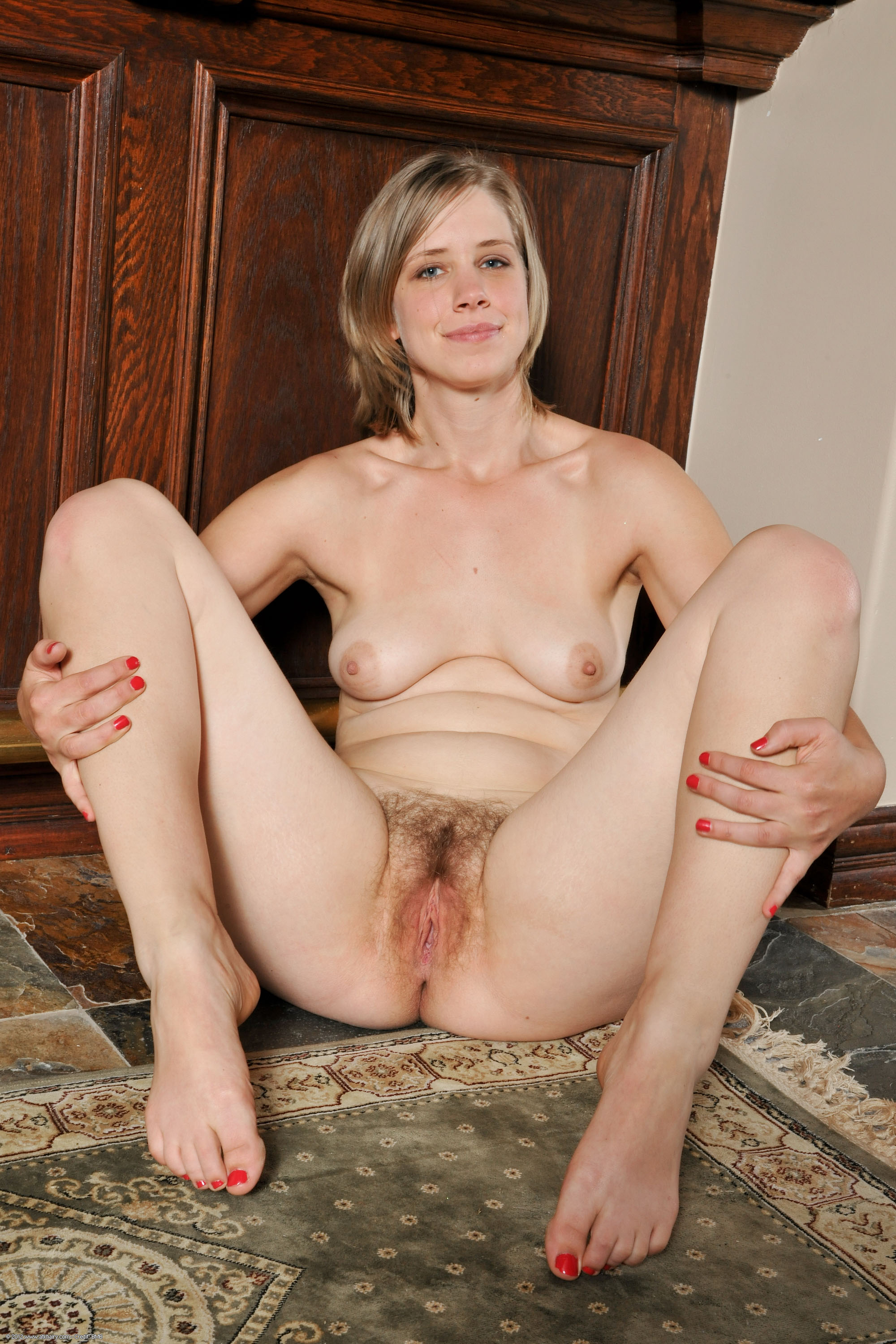 Amazing Girl With Natural Hairy Pussy - Free Porn