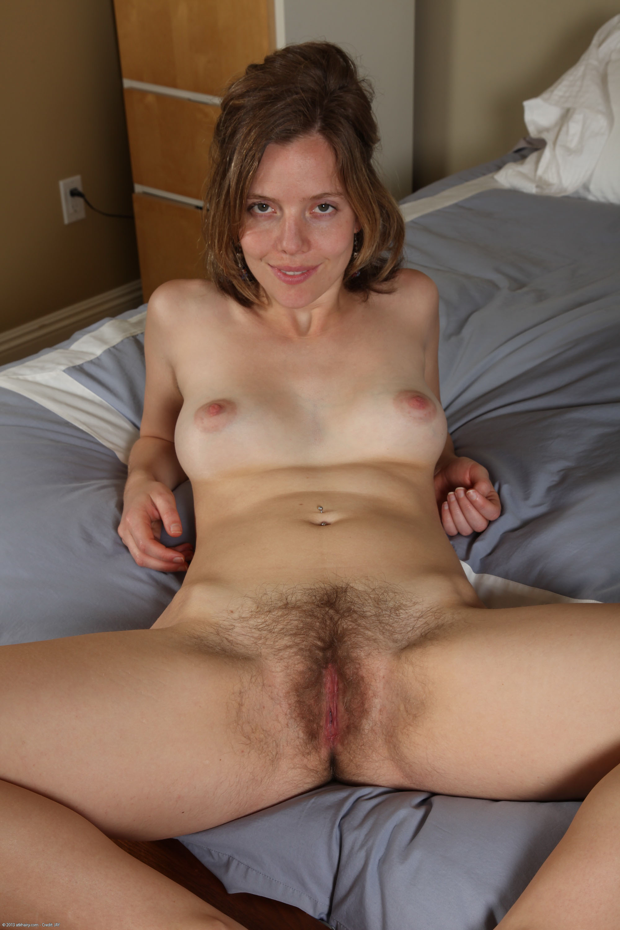 Atk natural hairy pussy